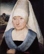 Portrait of elderly women Hans Memling