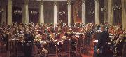 May 7, 1901 a State Council meeting Ilia Efimovich Repin