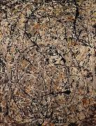 undulating paths Jackson Pollock
