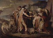 King Lear mourns Cordelia death James Barry