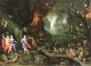 orpheus in the underworld Jan Brueghel The Elder