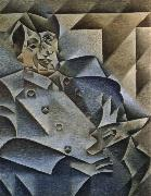portait of pablo picasso Juan Gris