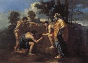 Even in Arcadia I have Nicolas Poussin
