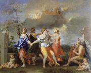 a dance to the music of time Nicolas Poussin