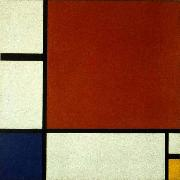 Composition II in Red, Blue, and Yellow Piet Mondrian