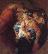 Holy Family with St. John the Baptist Pompeo Batoni