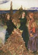 autumn leaves Sir John Everett Millais
