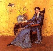 Portrait of Miss Dora Wheeler William Merritt Chase