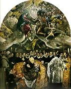 burial of count orgaz El Greco