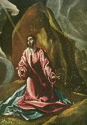 christ on the mount of olives El Greco