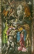 baptism of christ El Greco