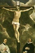 christ on the cross El Greco