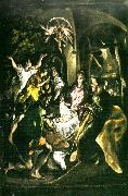 adoration of the shepherds El Greco