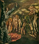 the vision of st. john El Greco