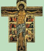 Crucifix with Master of san Francesco