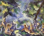 Bath nine women who Paul Cezanne