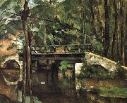 bridge Muncie Paul Cezanne