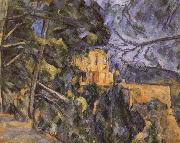 black castle 2 Paul Cezanne