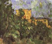 black castle 3 Paul Cezanne