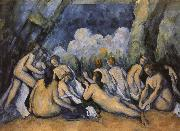 big bath person Paul Cezanne