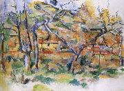 and tree house Paul Cezanne