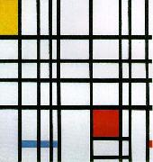 Piet Mondrian, Composition with Yellow, Blue, and Red Piet Mondrian