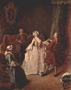 The Dancing Lesson Pietro Longhi