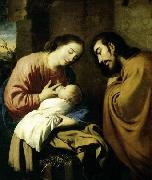 The Holy Family ZURBARAN  Francisco de