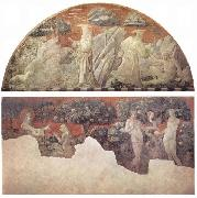 Creation of the Animals and Creation of Adam paolo uccello