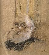 Self-portrait of glasses Vuillard