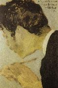 portrait of bonnard Vuillard