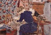 Sewing room Vuillard