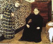 The artist's mother and sister Vuillard