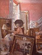 Mrs Black searle in her room Vuillard
