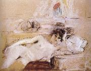 Naked women and white mat Vuillard
