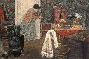 Maid cleaning the room Vuillard