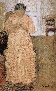 Pink clothes women Vuillard