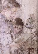 Mishra and his sister Vuillard