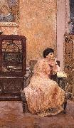 Maxi Er portrait of his wife at home Vuillard