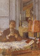 Opal harp in his office Vuillard