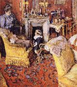Moruisifu and her son Vuillard