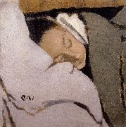 Sleeping woman Vuillard