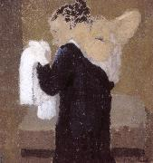 Lady is being scrubbed of Vial Vuillard