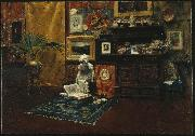 Studio Interior William Merritt Chase