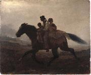 A Ride for Liberty -- The Fugitive Slaves Eastman Johnson