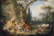 Charms of Country Life Francois Boucher