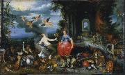 Allegory of Air and Fire Frans Francken II