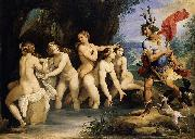 Diana and Actaeon GIuseppe Cesari Called Cavaliere arpino