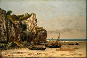 Beach in Normandy Gustave Courbet
