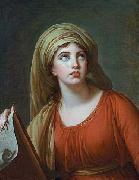 Lady Hamilton as the Persian Sibyl elisabeth vigee-lebrun